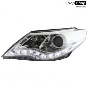 Кристални фарове VW PASSAT  CC  (2008-2012)  - хром от HopShop.Bg.