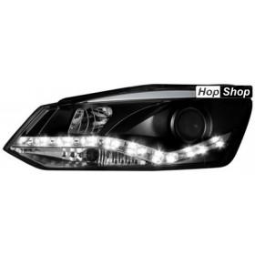 Кристални фарове  VW POLO 6R (2009+)  -  черни от HopShop.Bg.