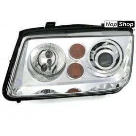 Кристални фарове за Бора VW BORA  - хром от HopShop.Bg.