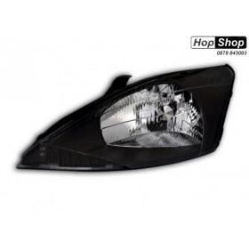 Кристални фарове FORD FOCUS (98-01) - черни от HopShop.Bg.