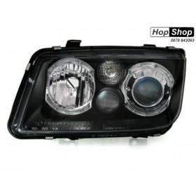 Кристални Фарове за Бора VW BORA - черни от HopShop.Bg.