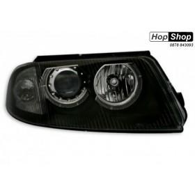 Кристални фарове  Angel Eyes VW PASSAT  B5.5 (01-05)  - черни от HopShop.Bg.