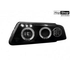 Кристални фарове  Angel Eyes VW PASSAT 3B/ B5 (97-00)  - черни от HopShop.Bg.