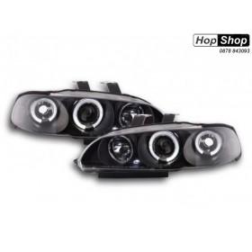 Кристални фарове  HONDA CIVIC седан (92-95) - черни от HopShop.Bg.