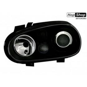 Кристални фарове  GOLF IV R32  - черни от HopShop.Bg.