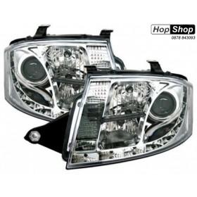 Кристални фарове за Ауди TT (1998-2005) - хром от HopShop.Bg.