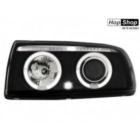 Кристални фарове  VW VENTO  (91-98) - черни от HopShop.Bg.