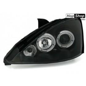Кристални фарове за Форд Фокус (1998-2001) - черни от HopShop.Bg.