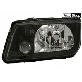 Кристални Фарове за VW BORA - черни от HopShop.Bg.