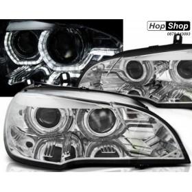 Кристални фарове BMW X5 E70 (2007-2010) - 3D Design от HopShop.Bg.