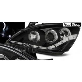 Кристални фарове Mitsubishi Lancer (2004-2007) - черни от HopShop.Bg.