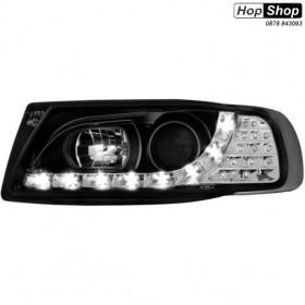 Кристални фарове SEAT IBIZA 6K (93-00)  - черни от HopShop.Bg.