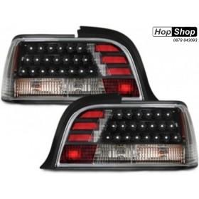 Диодни стопове BMW E36 (91-99) sedan - черни от HopShop.Bg.