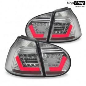 Кристални диодни стопове VW  GOLF V - Лайтбар дизайн хром от HopShop.Bg.
