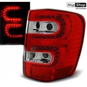 Диодни стопове за Jeep Grand Cherokee (1999-2005)  - хром от HopShop.Bg.