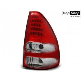 Диодни стопове за Тойота Ланд Крузер 120 (2003-2009) - хром от HopShop.Bg.