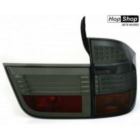 Диодни стопове BMW X5  (2007+) - опушени от HopShop.Bg.