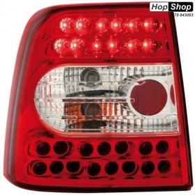 Диодни стопове  VW PASSAT 3B/ B5 (97-00) седан - червени от HopShop.Bg.