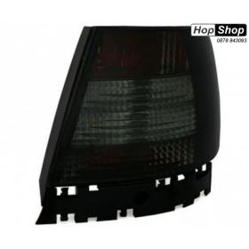 Кристални стопове  AUDI A4  седан (95-01) -  черен хром от HopShop.Bg.