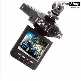 """Видеорегистратор 720P с 2"""" LCD дисплей и презареждаща се батерия от HopShop.Bg."""