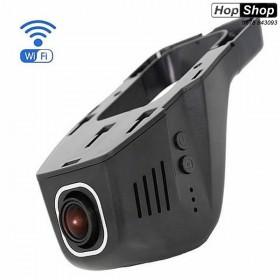 Видеорегистратор 1080 FULL HD за скрит монтаж зад огледалото с WI-FI от HopShop.Bg.