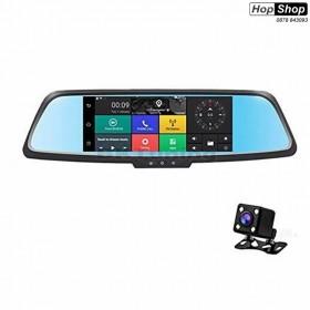 Видеорегистратор с Android, GPS, WI-FI, Bluetooth, FM Transmiter, камера за задно виждане и 3G Internet от HopShop.Bg.