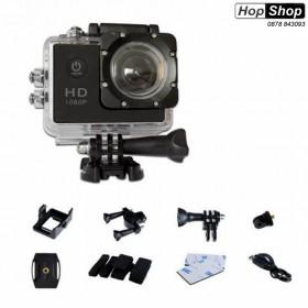 Спортна Екшън Камера Full HD 1080p за Мотор, АТВ, Ски, Колело и Екстремни Спортове от HopShop.Bg.