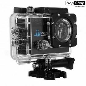 Спортна Екшън Камера с Wi-Fi, 60fps 4K Ultra HD за Мотор, АТВ, Ски, Колело и Екстремни Спортове от HopShop.Bg.