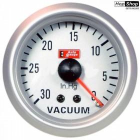Измервателен уред за вакуум - VDO бял от HopShop.Bg.