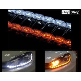 Универсални ултра ярки диоди в корпус, за вътрешен монтаж във фарове, за дневни светлини + мигач. от HopShop.Bg.