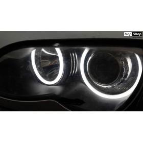 Ангелски Очи Лайтбар дизайн BMW X3 E83 (2000-2010) - бял от HopShop.Bg.
