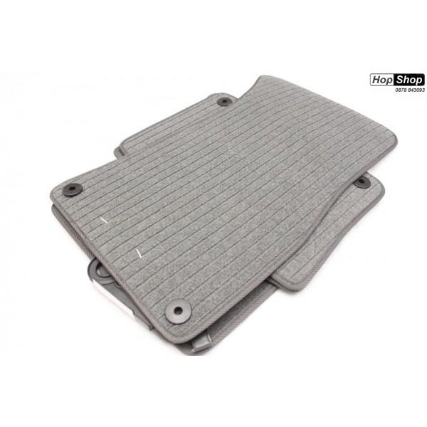 Стелки мокет Ауди А8 Д3 (2002-2010) - къса база - сиви от категория Audi A8 (мокет)