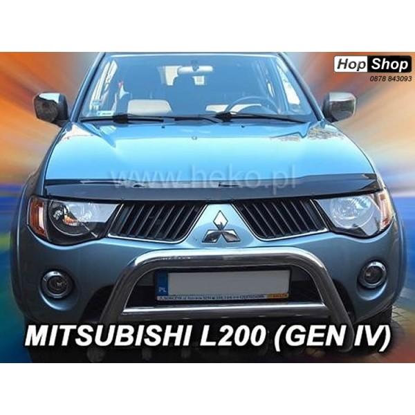 Дефлектор за преден капак Мицубиши L200 2006+ от категория Дефлектор за Mitsubishi
